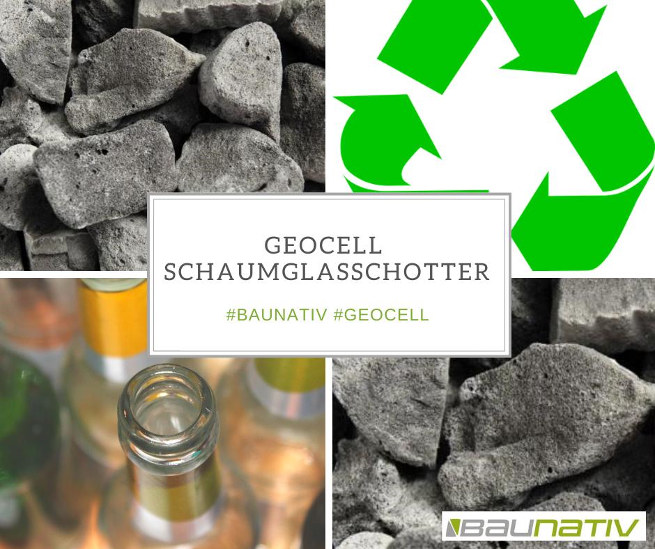 Geocell Glasschaumschotter