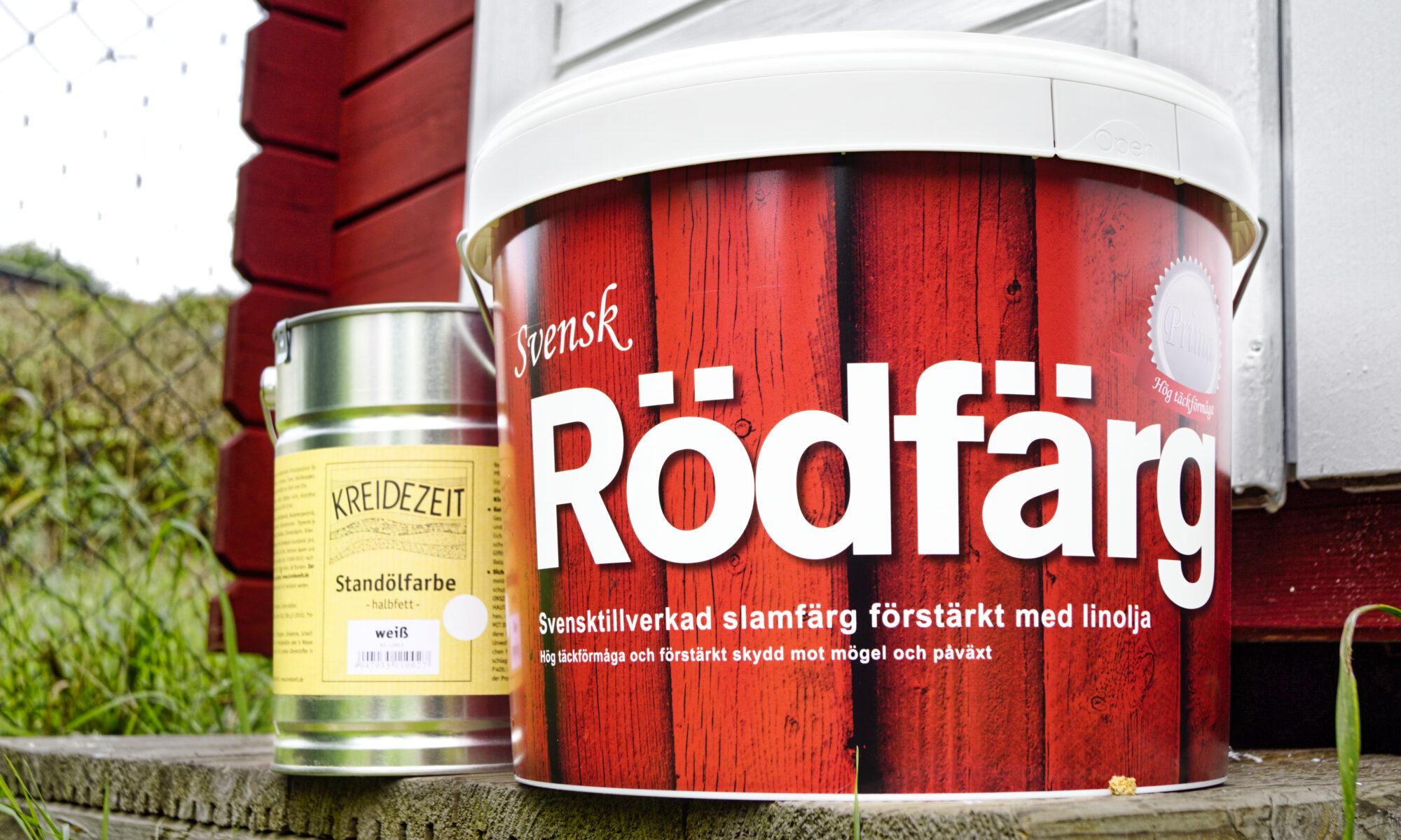 Svensk Rödfärg Produktbild